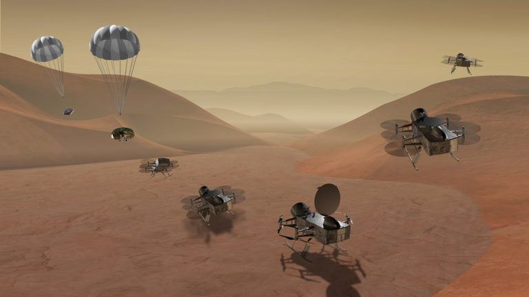 Image d'illustration de la mission Dragonfly