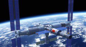 Dessin de la future station chinoise.