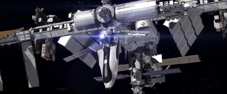 Le Dream Chaser s'arrime à la station ISS
