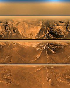 Photos panoramiques de Titan