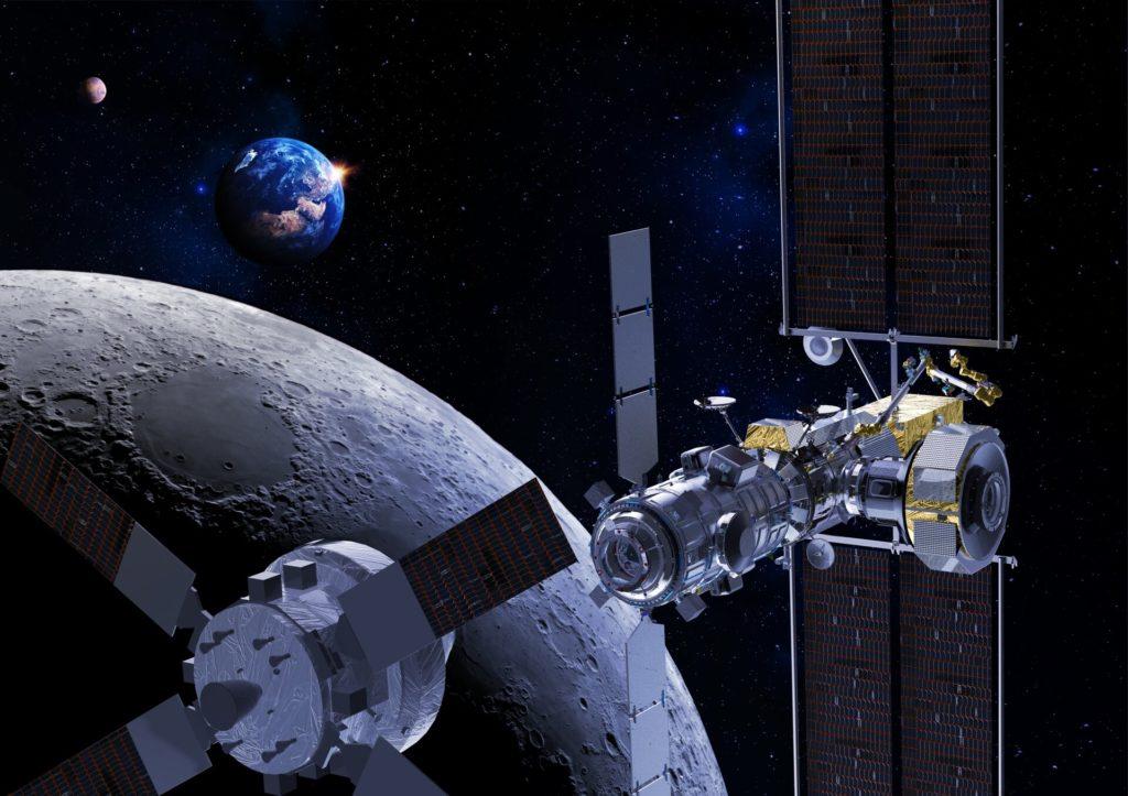 Gateway et la capsule Orion