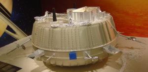 Maquette du module Huygens
