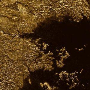 Photo infrarouge de la surface de Titan
