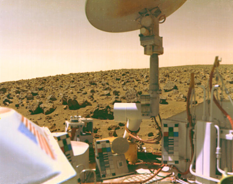 Viking 2 lander (1976)