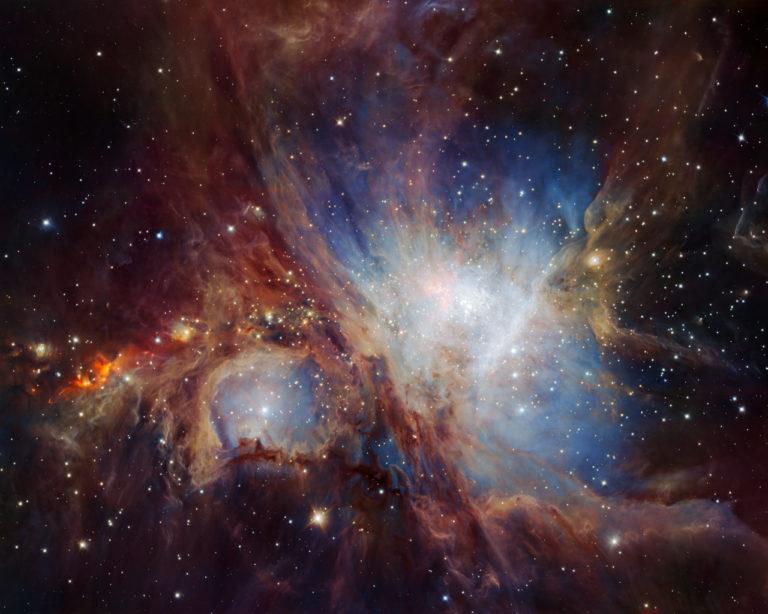 Image de la nébuleuse d'Orion