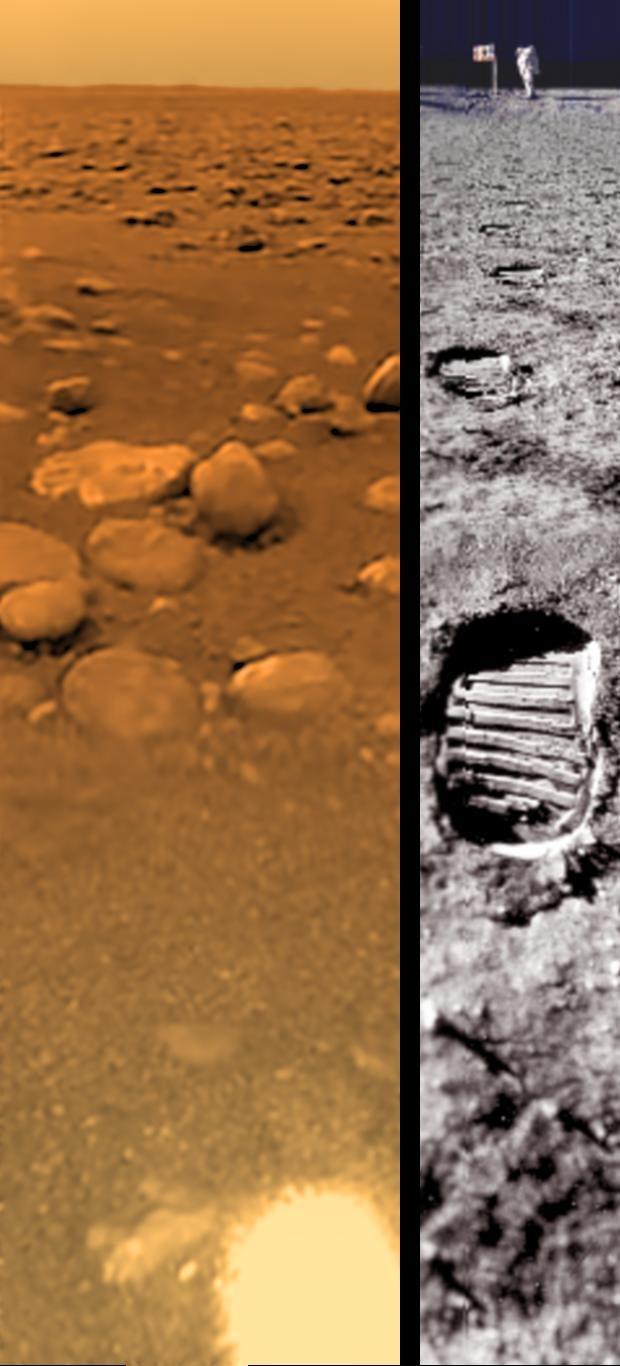 Image de la surface de Titan