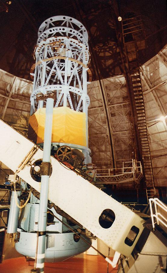 Le télescope Hooker