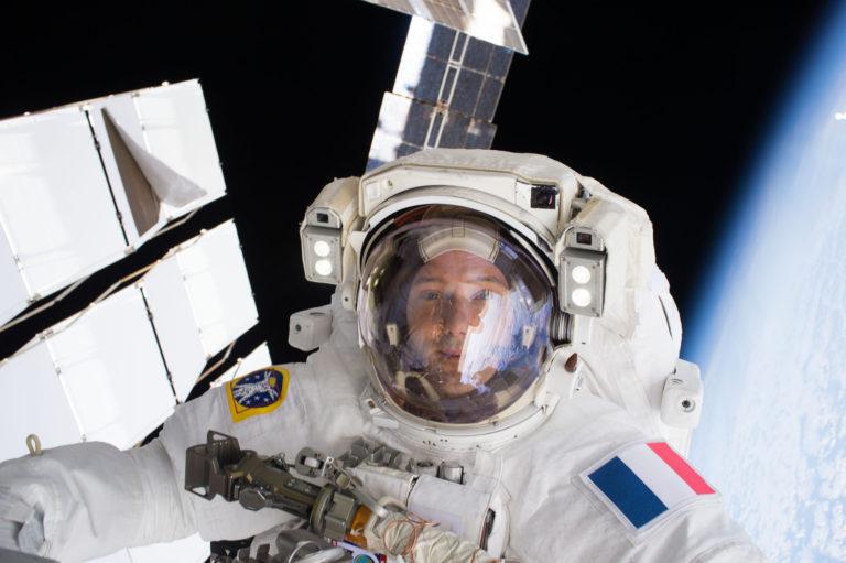 Thomas Pesquet dans l'espace