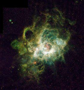 Photo de la nébuleuse NGC 604