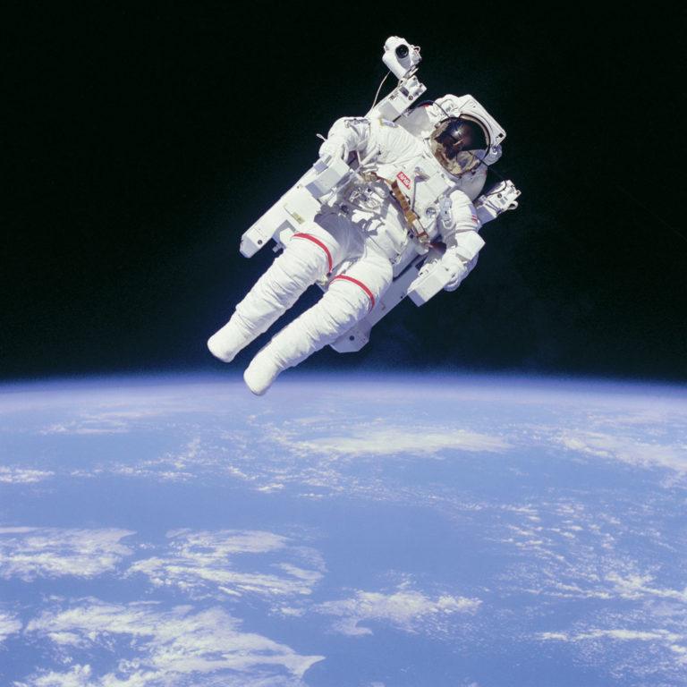 Bruce McCandless II dans l'espace