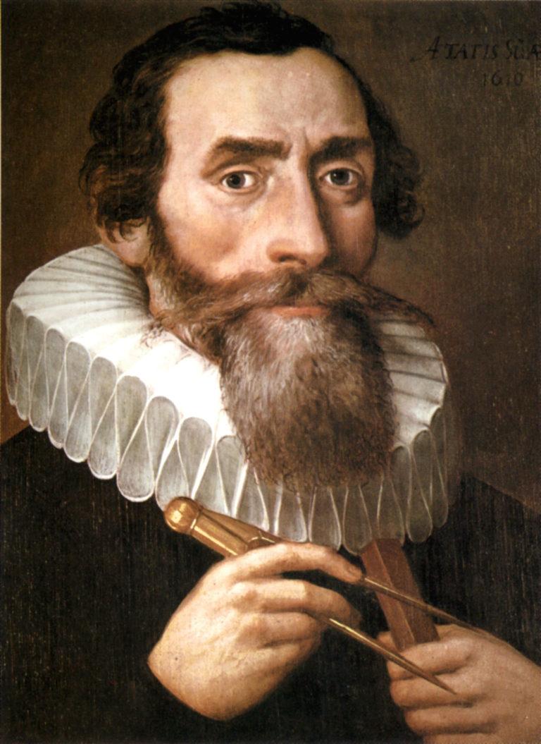 Portrait de Johannes Kepler