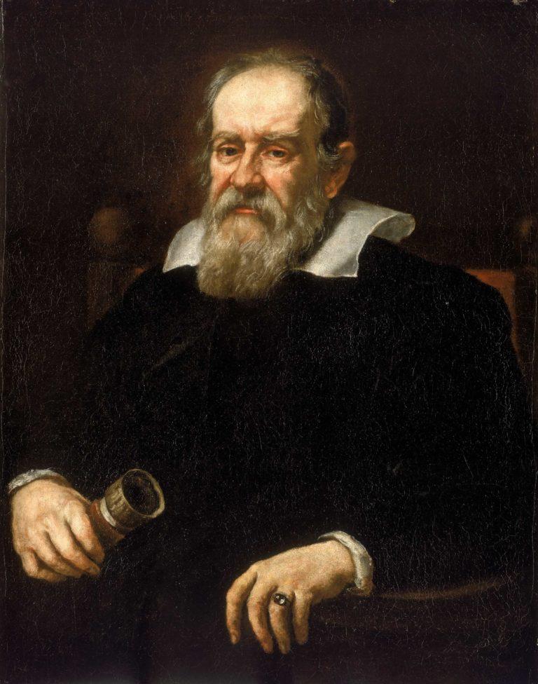 Portrait de Galileo Galilei