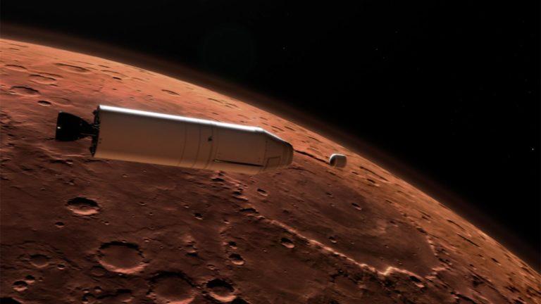 Illustration de la fusée MAV
