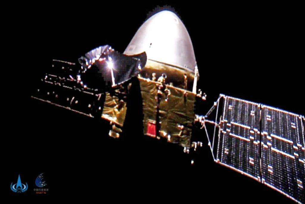 Selfie de la sonde Tianwen-1