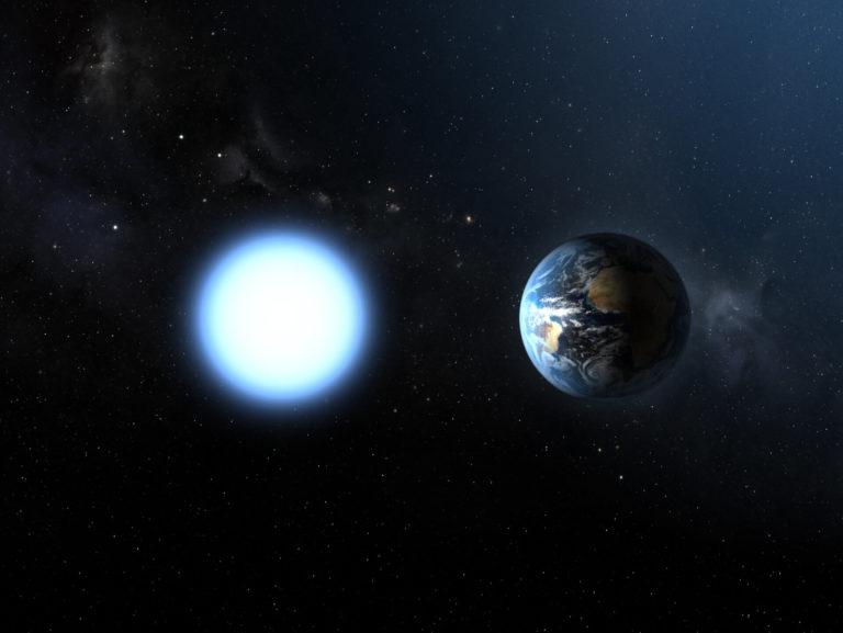 Image de Sirius B, une naine blanche