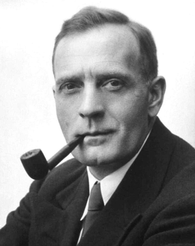 Photographie d'Edwin Hubble, datée de 1931.