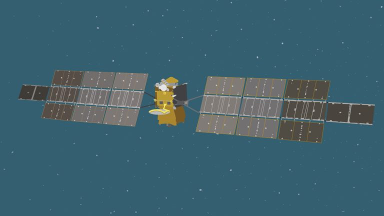 Dessin du Earth Return Orbiter