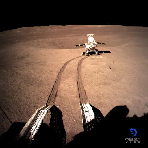 Photo du rover Yutu 2