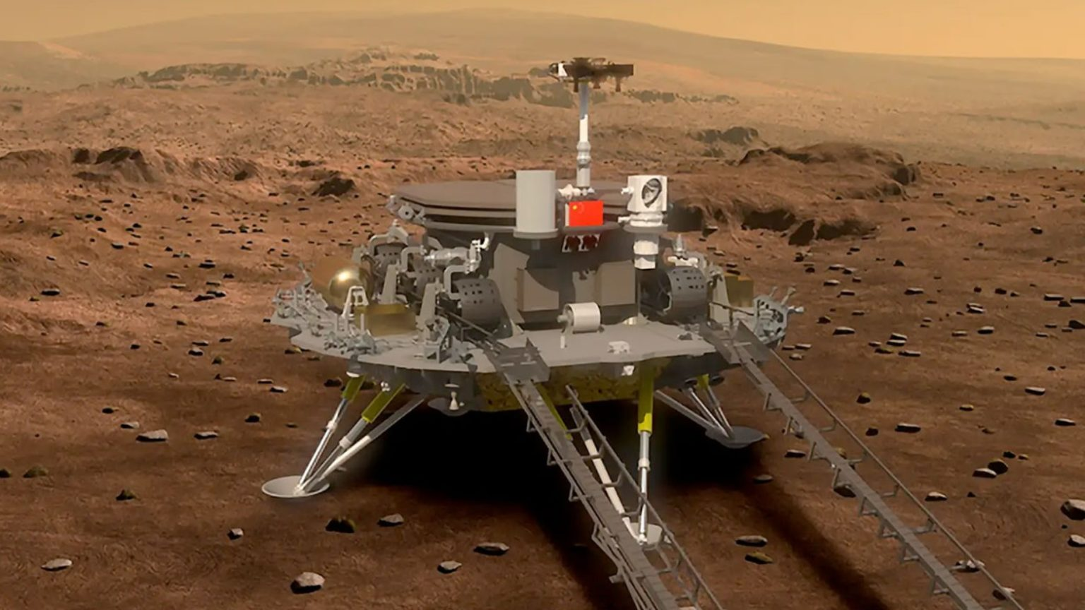 Rover Tianwen-1