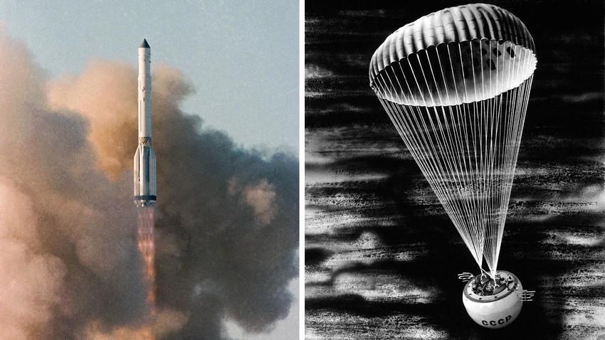 Lancement de la sonde Vega 2