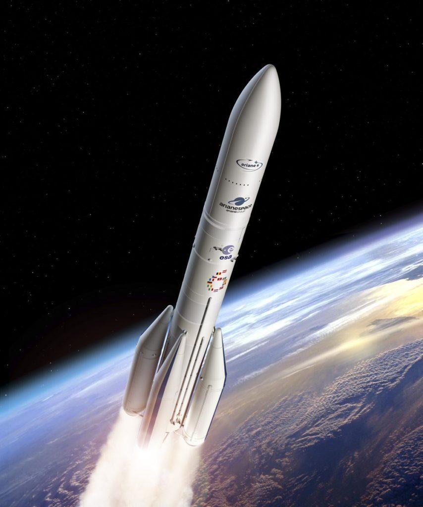 Ariane 6 en vol
