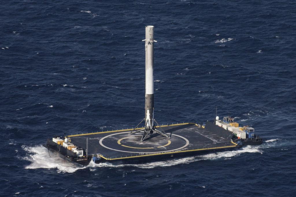 Un booster sur sa barge