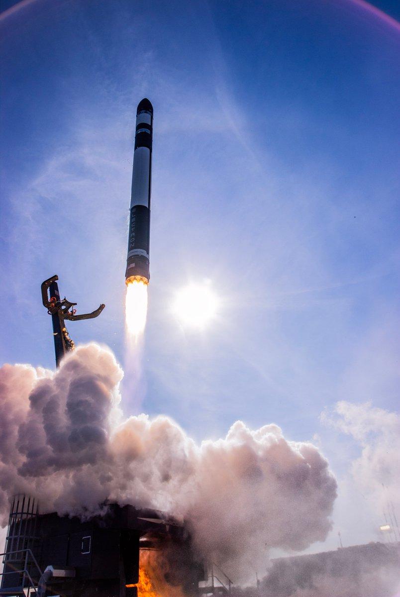 Lancement d'une fusée Electron