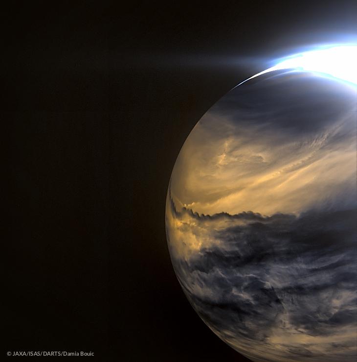 Nuages de Vénus