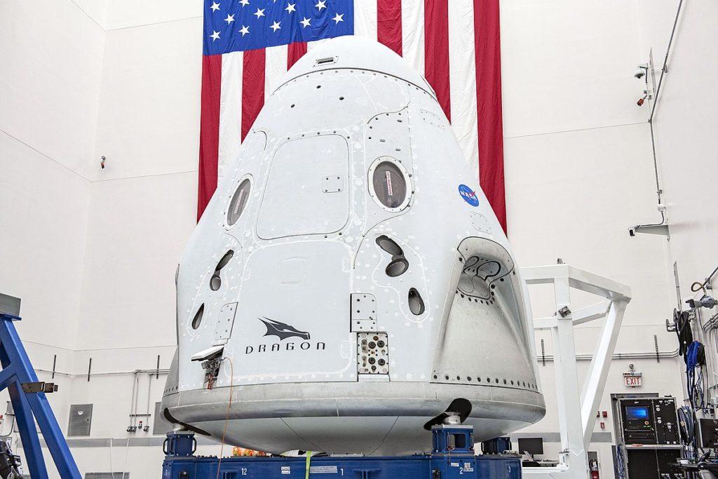 Préparatifs de la capsule Endeavour
