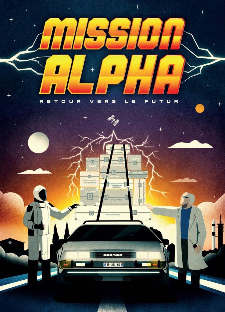 Poster de la mission Alpha