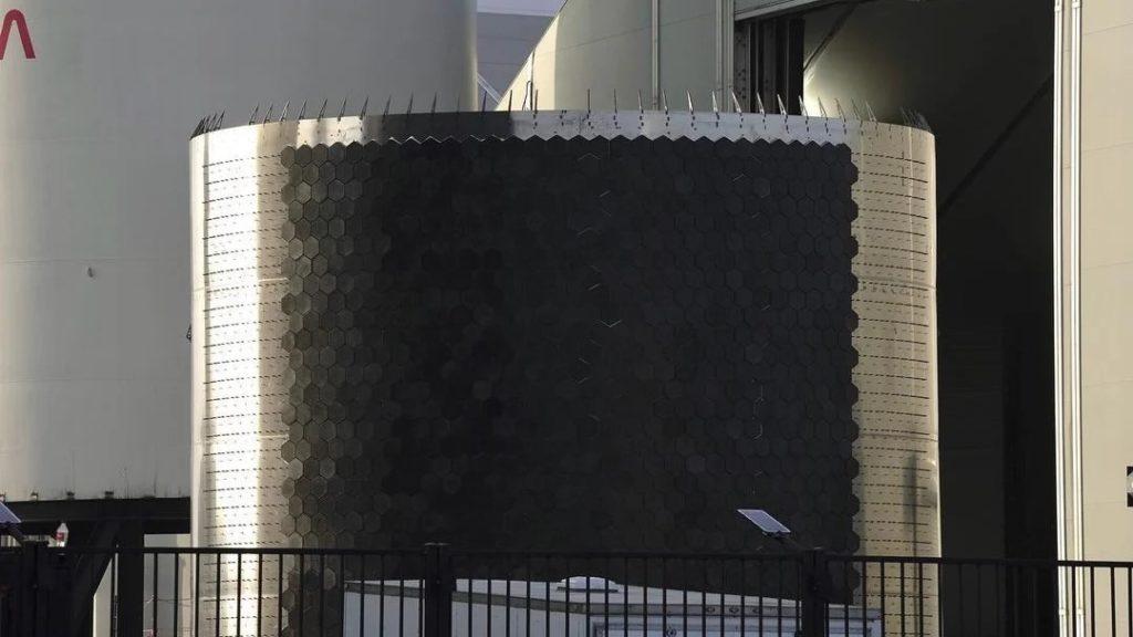 Bouclier thermique du SN16