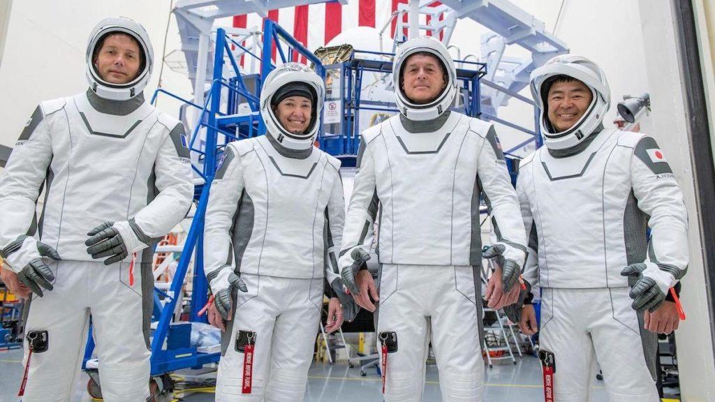 L'équipage de Crew-2