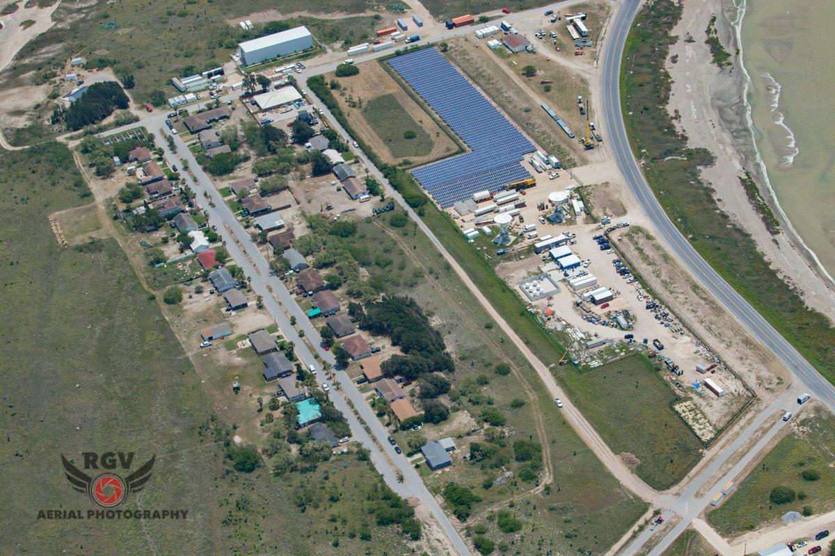 Vue aérienne de Boca Chica