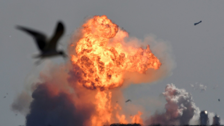 Explosion du SN9