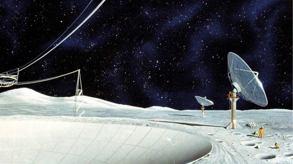 Radiotélescopie lunaire
