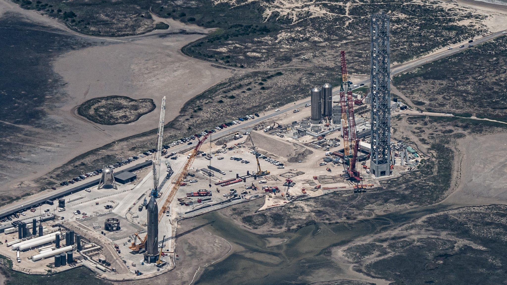 Site de lancement du Starship