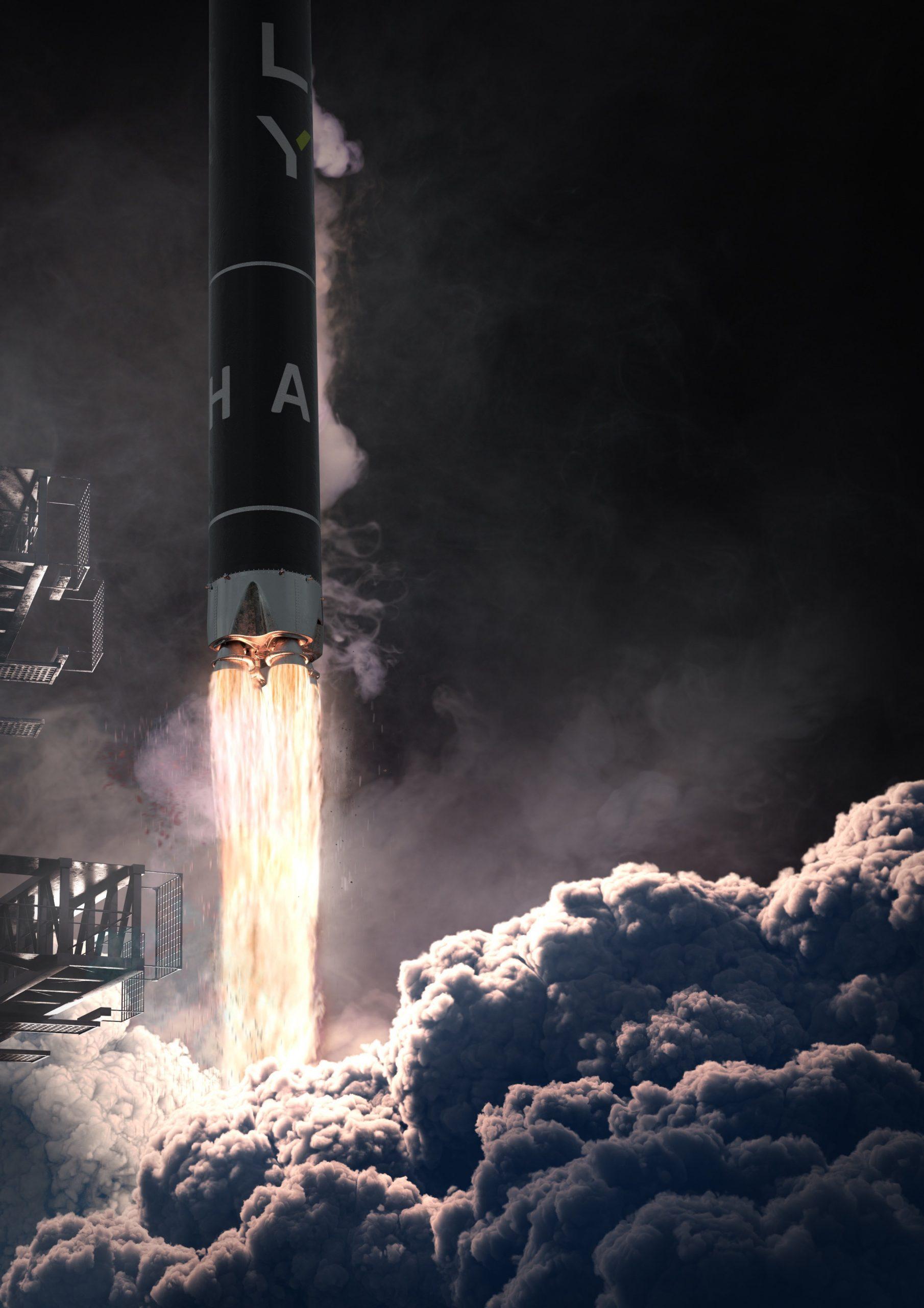 Lancement de la fusée Alpha