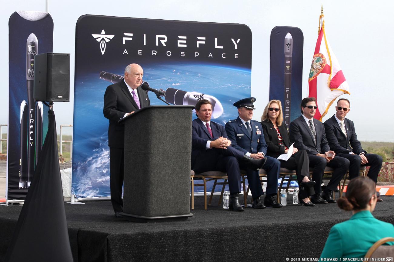 Firefly à Cap Canaveral