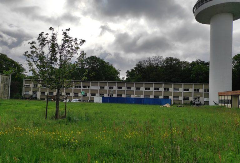 Un des bâtiments présents sur le site de Meudon