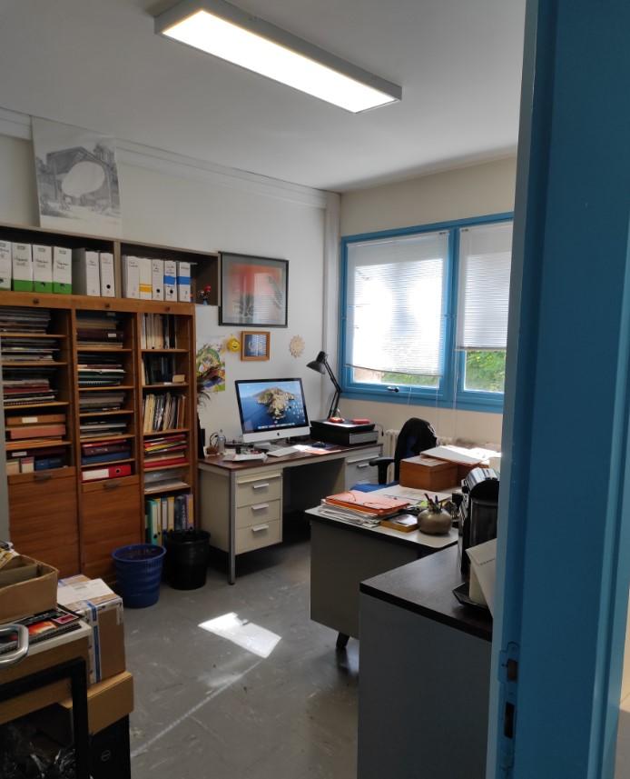 Ce à quoi ressemble le bureau d'un astronome...
