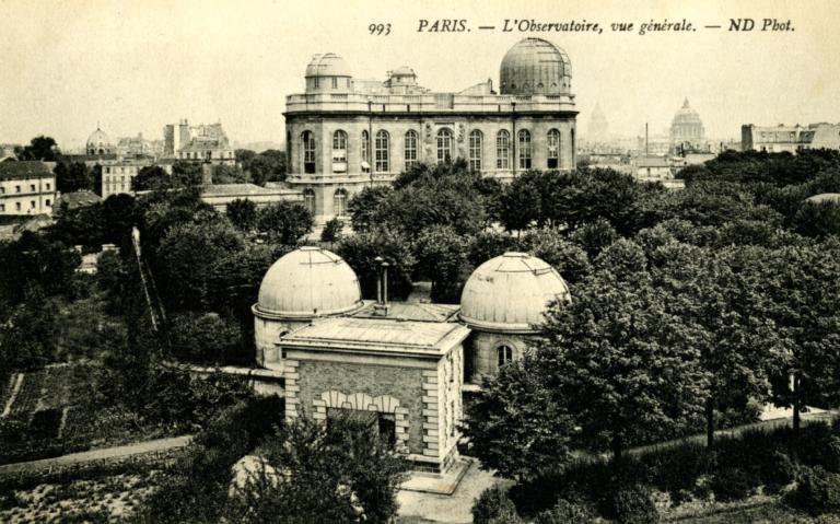 Carte postale de l'Observatoire © Observatoire de Paris