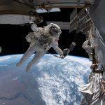 EVA ISS 1.1 dans l'espace