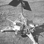 Maquette de la sonde lunaire Surveyor 1
